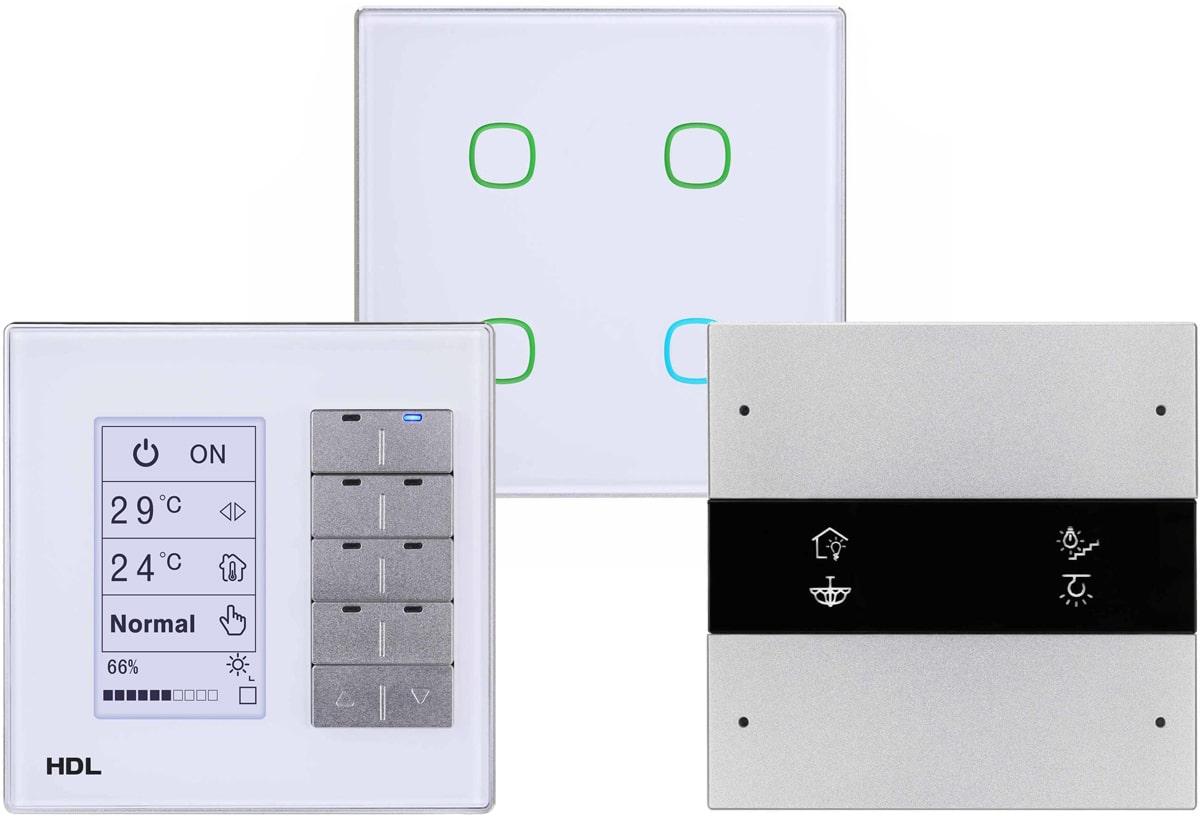 Клавишные и сенсорные панели управления